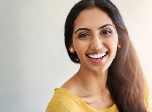 Cosmetic periodontics in Florham Park solves a gummy smile.