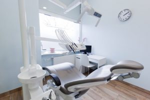 interior of a dental practice
